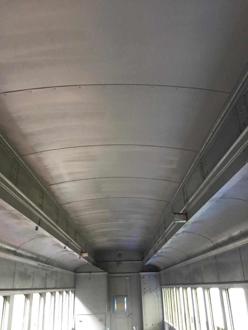 Train Car Post Cleaning